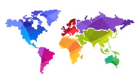 la carte du monde