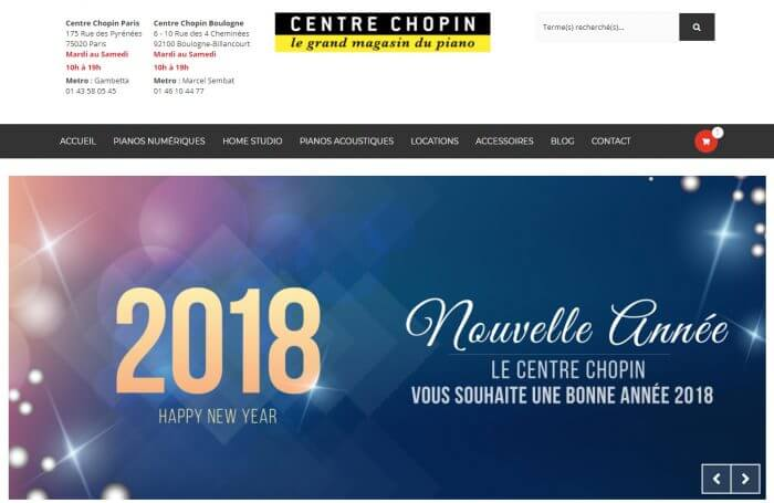 Dynamic Marketing Centre Chopin e-shop